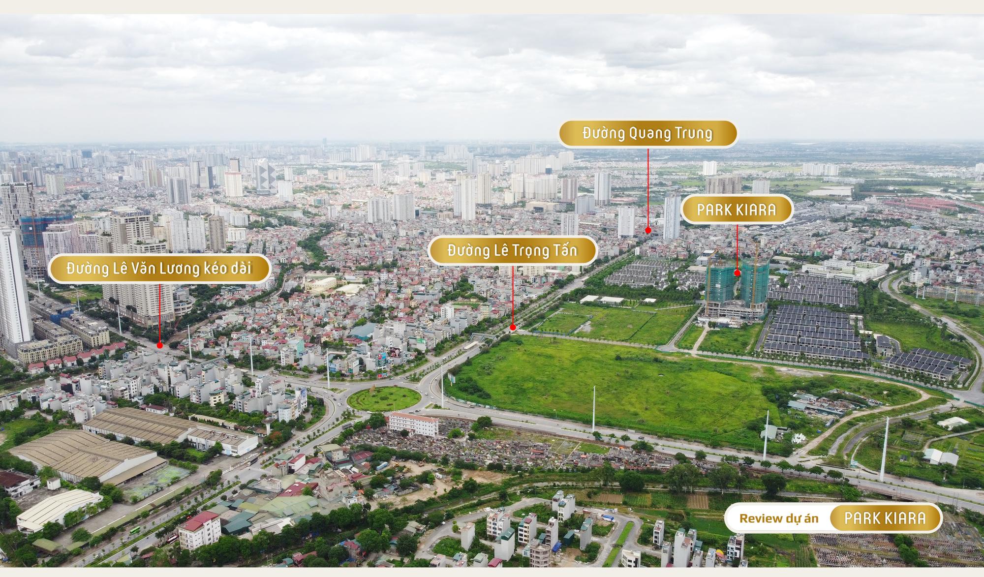 Review dự án chung cư Park Kiara: 80% là căn góc, gần trục chính Lê Văn Lương - Lê Trọng Tấn kéo dài - Ảnh 12.