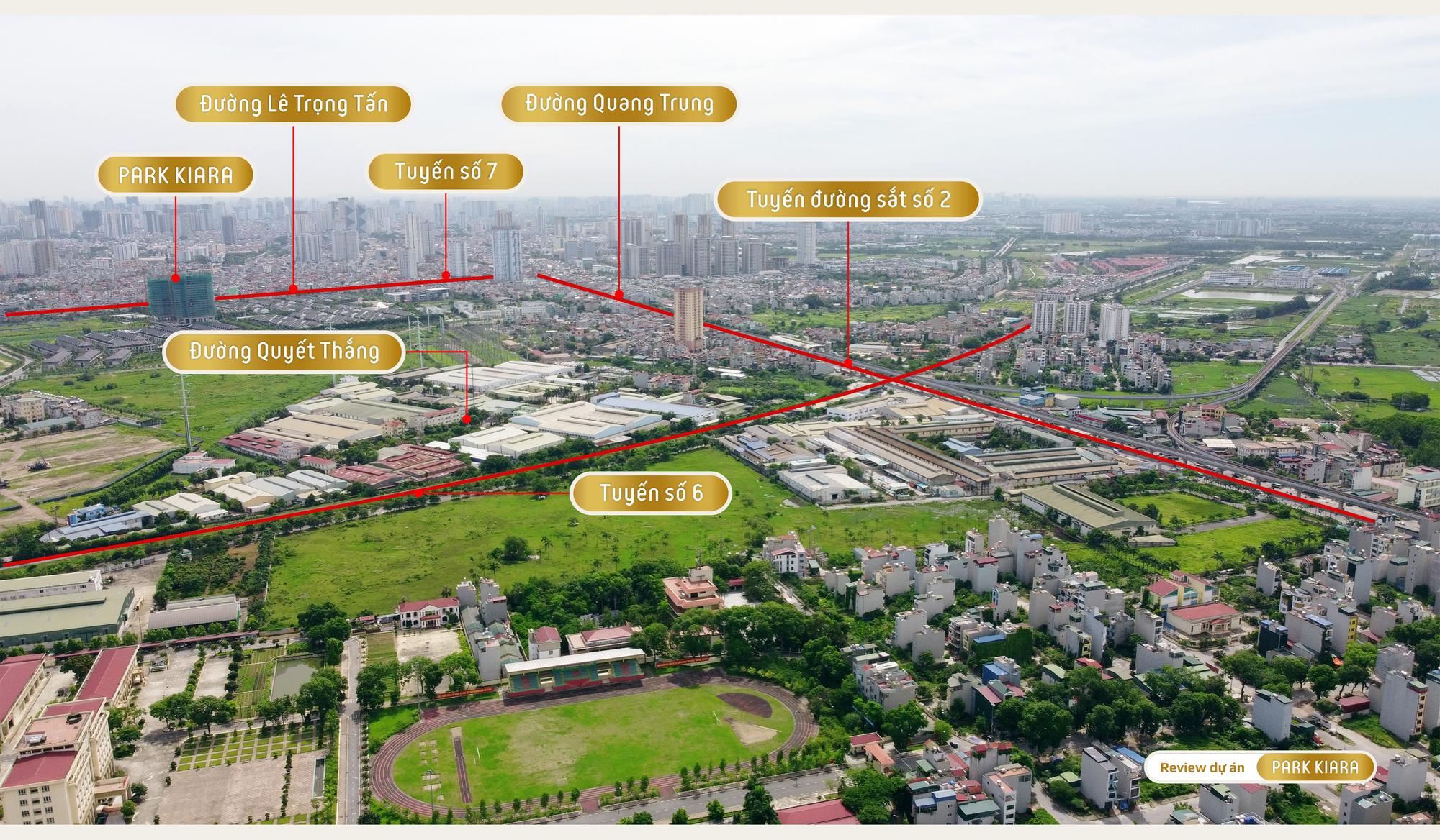 Review dự án chung cư Park Kiara: 80% là căn góc, gần trục chính Lê Văn Lương - Lê Trọng Tấn kéo dài - Ảnh 17.