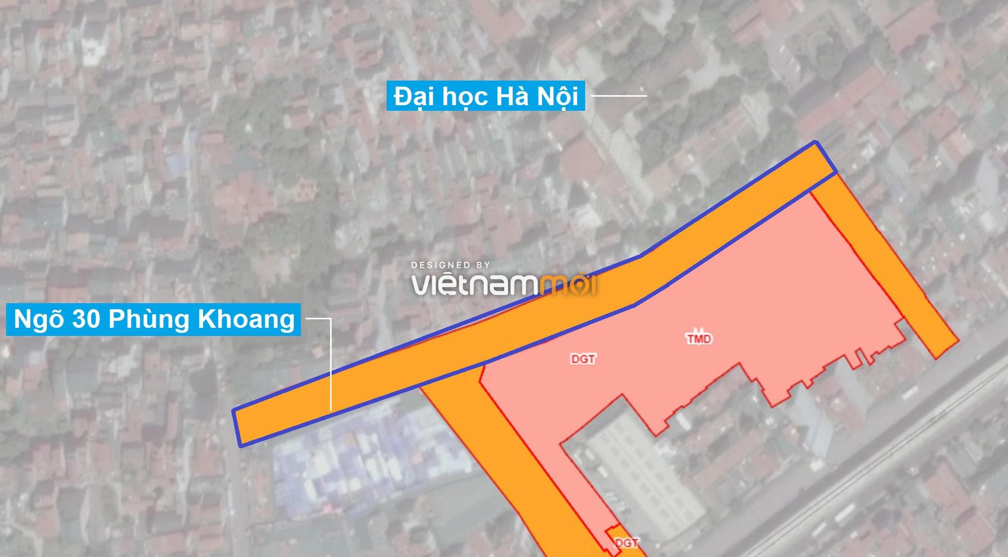 Những khu đất sắp thu hồi để mở đường ở phường Trung Văn, Nam Từ Liêm, Hà Nội (phần 2) - Ảnh 1.