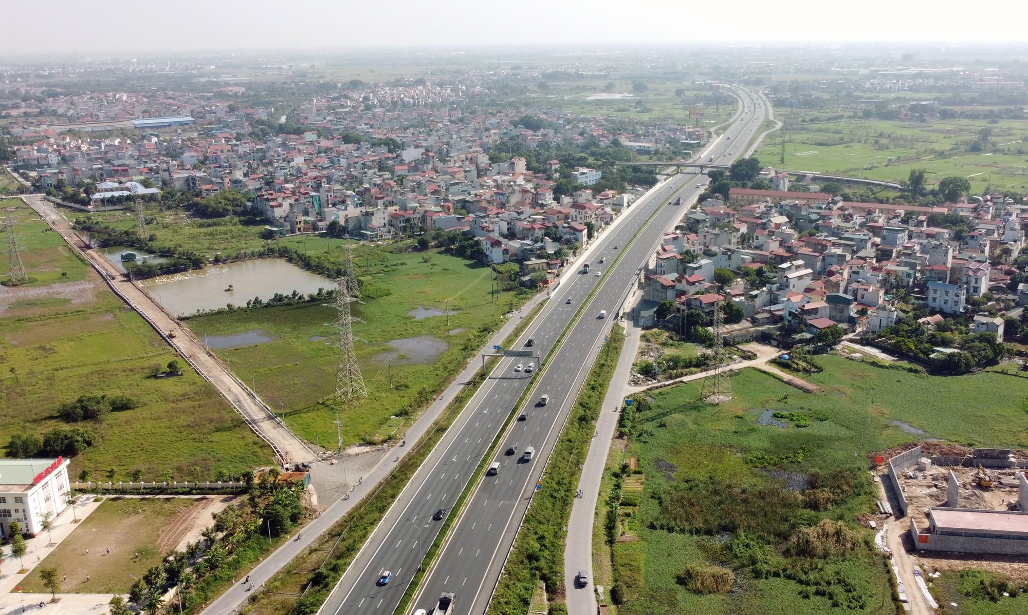 Sớm hoàn thiện 12 km đường gom phía đông cao tốc Pháp Vân - Cầu Giẽ đoạn qua huyện Thường Tín - Ảnh 1.