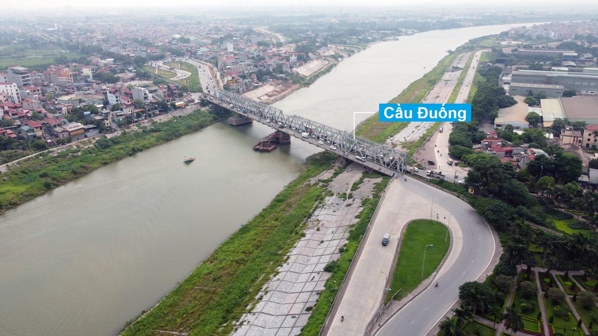 Khu dân cư Đông Ngàn, Yên Viên, Thượng Thanh và Ngọc Thụy hiện có ở bãi sông Đuống thuộc diện di dời - Ảnh 1.