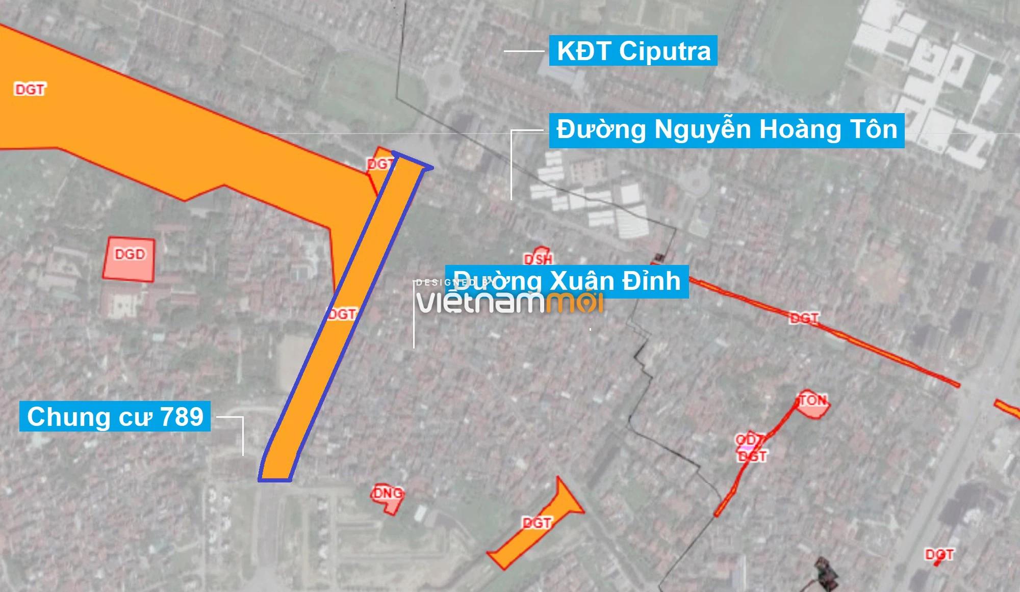 Những khu đất sắp thu hồi để mở đường ở quận Bắc Từ Liêm, Hà Nội (phần 1) - Ảnh 1.