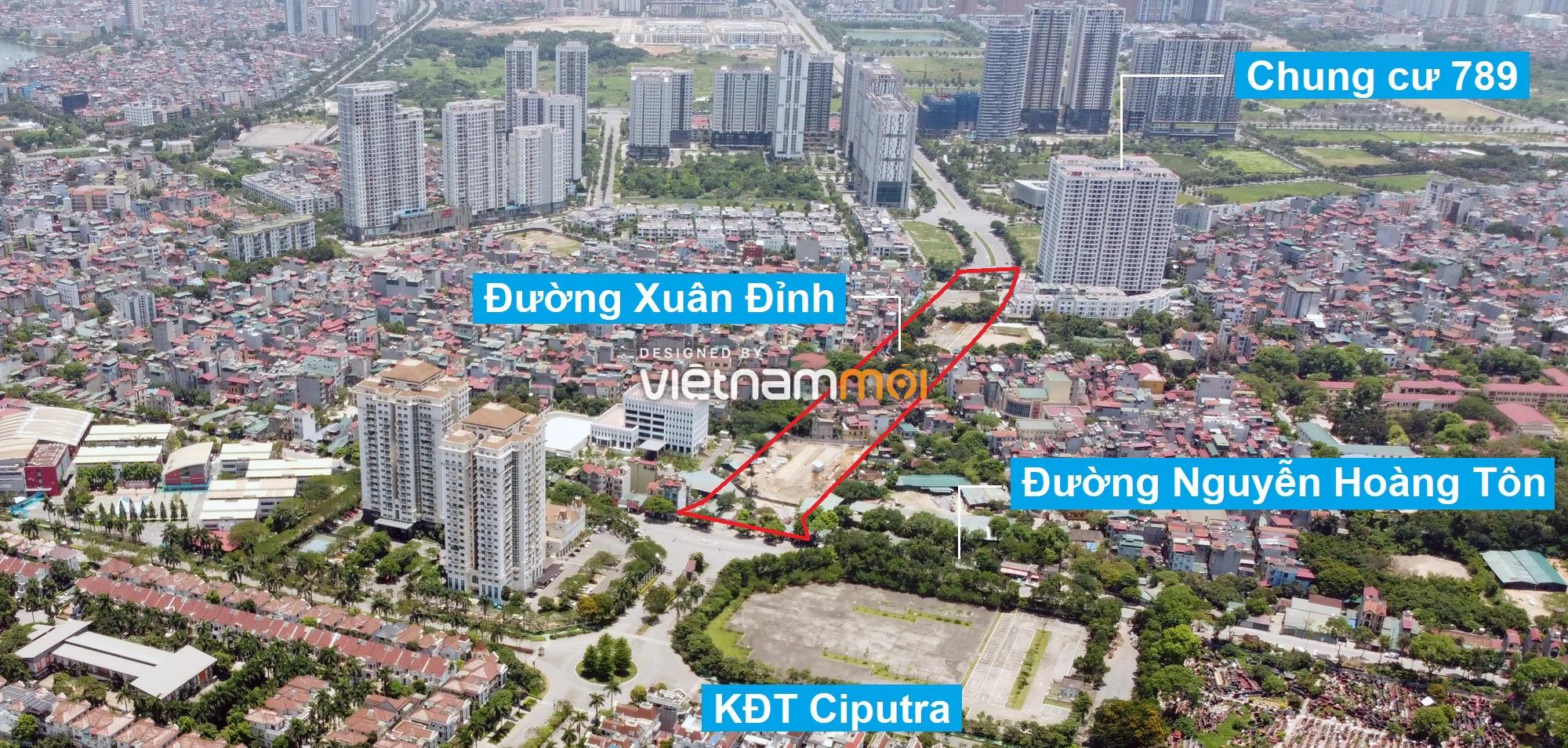 Những khu đất sắp thu hồi để mở đường ở quận Bắc Từ Liêm, Hà Nội (phần 1) - Ảnh 8.
