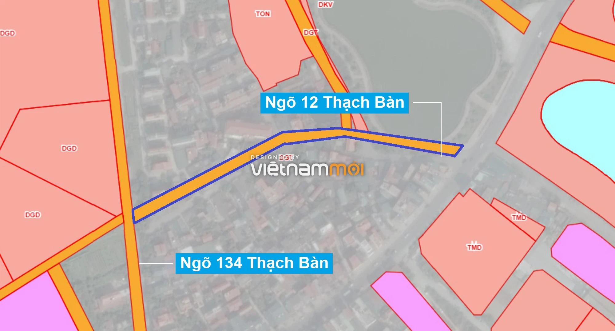 Những khu đất sắp thu hồi để mở đường ở phường Thạch Bàn, Long Biên, Hà Nội (phần 2) - Ảnh 1.