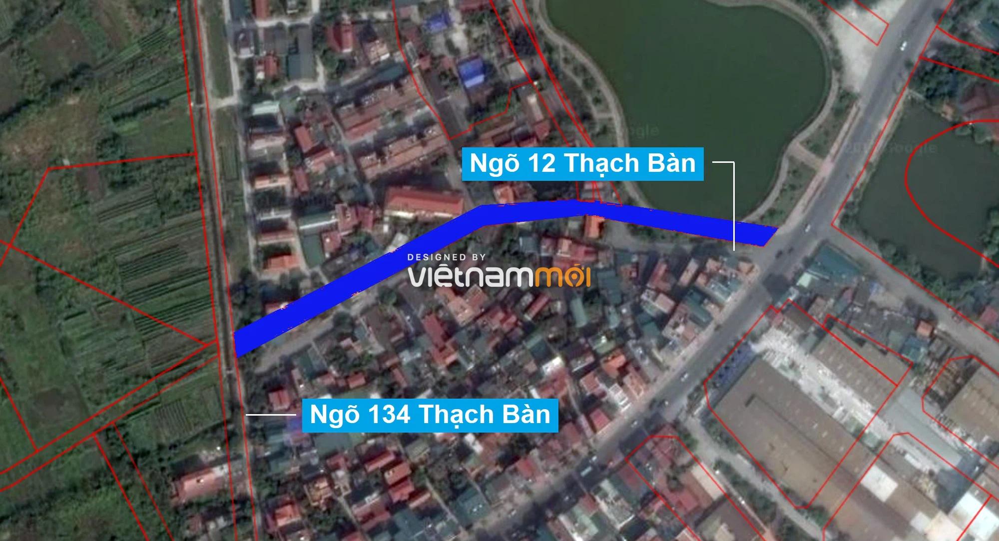 Những khu đất sắp thu hồi để mở đường ở phường Thạch Bàn, Long Biên, Hà Nội (phần 2) - Ảnh 2.