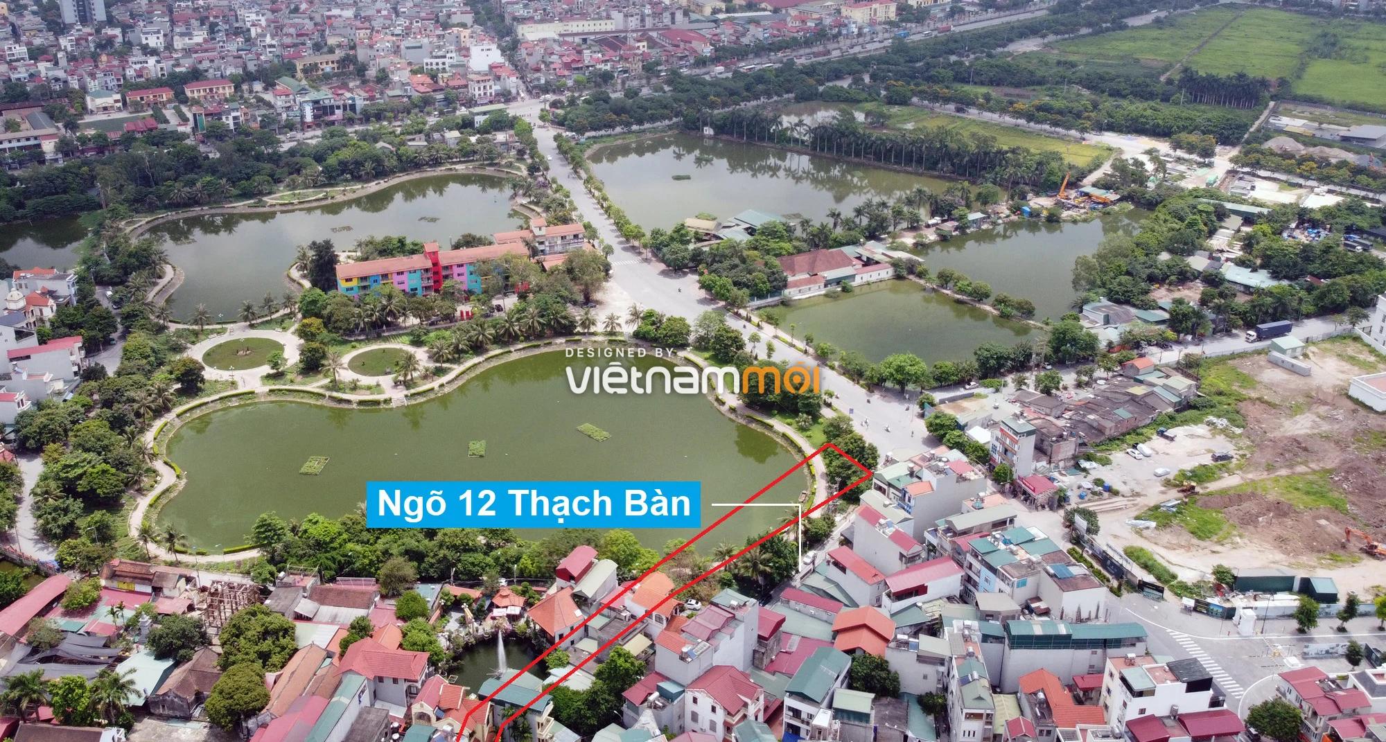Những khu đất sắp thu hồi để mở đường ở phường Thạch Bàn, Long Biên, Hà Nội (phần 2) - Ảnh 6.