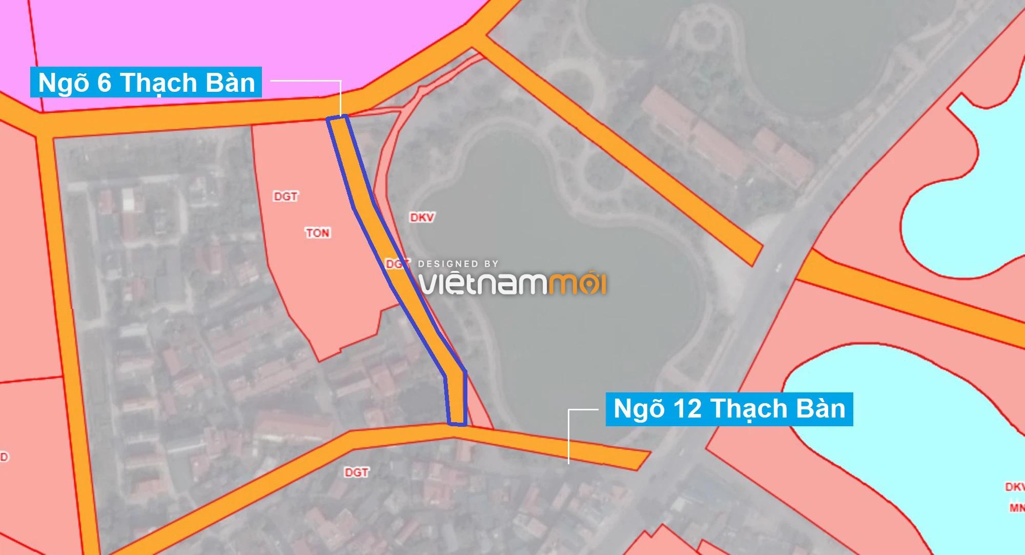 Những khu đất sắp thu hồi để mở đường ở phường Thạch Bàn, Long Biên, Hà Nội (phần 2) - Ảnh 7.