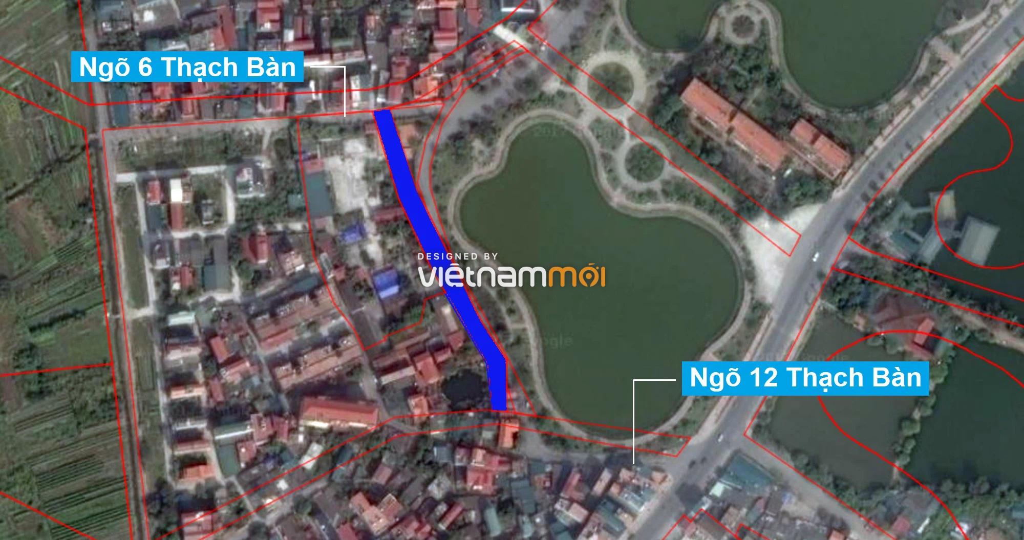 Những khu đất sắp thu hồi để mở đường ở phường Thạch Bàn, Long Biên, Hà Nội (phần 2) - Ảnh 8.