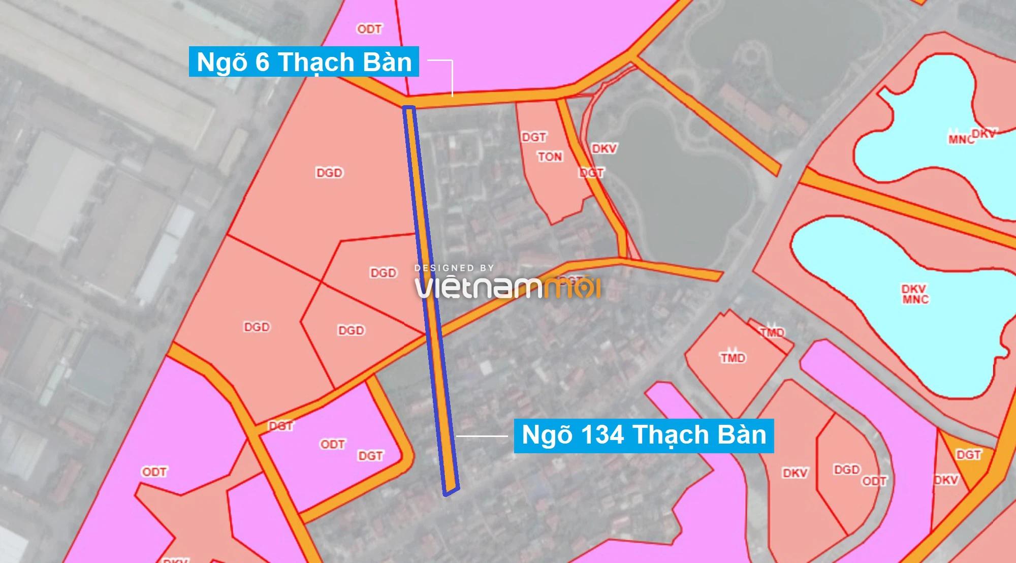Những khu đất sắp thu hồi để mở đường ở phường Thạch Bàn, Long Biên, Hà Nội (phần 2) - Ảnh 13.