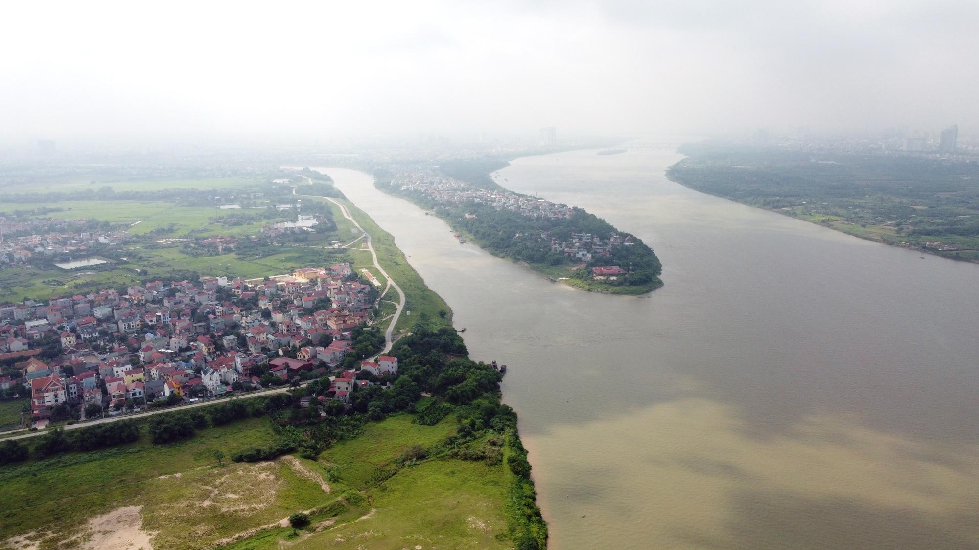 Hà Nội: Toàn cảnh các khu dân cư ven sông Hồng, sông Đuống thuộc diện di dời - Ảnh 1.