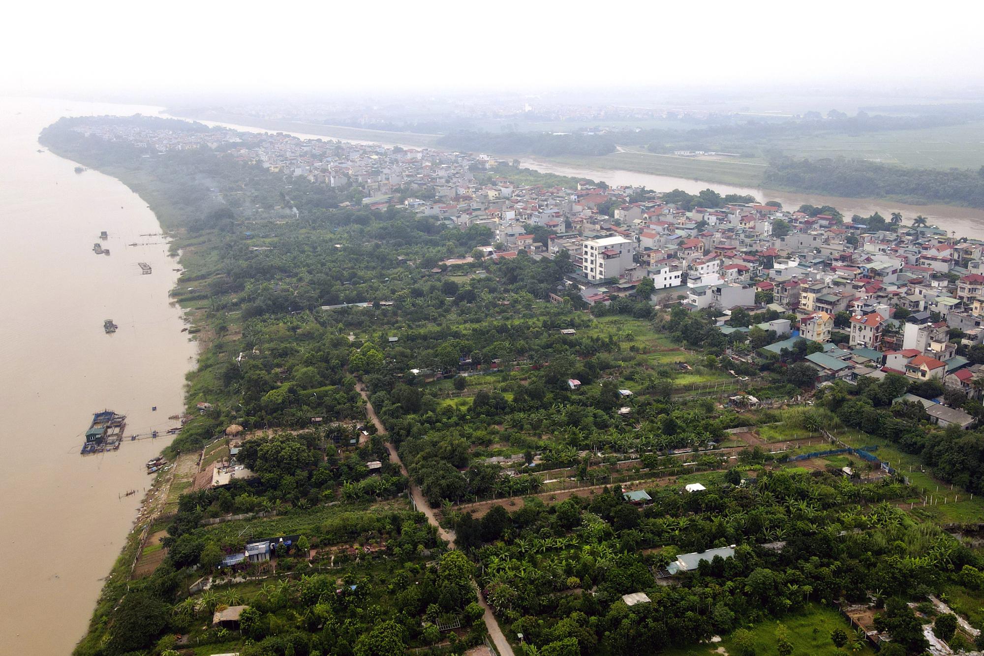 Hà Nội: Toàn cảnh các khu dân cư ven sông Hồng, sông Đuống thuộc diện di dời - Ảnh 4.
