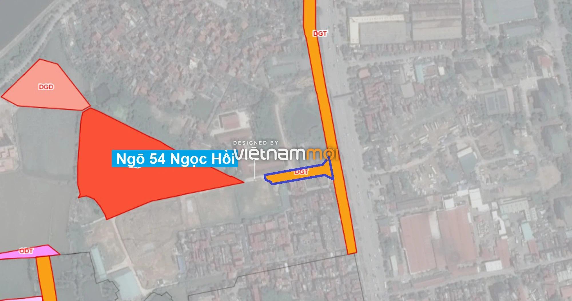 Những khu đất sắp thu hồi để mở đường ở quận Hoàng Mai, Hà Nội (phần 2) - Ảnh 1.