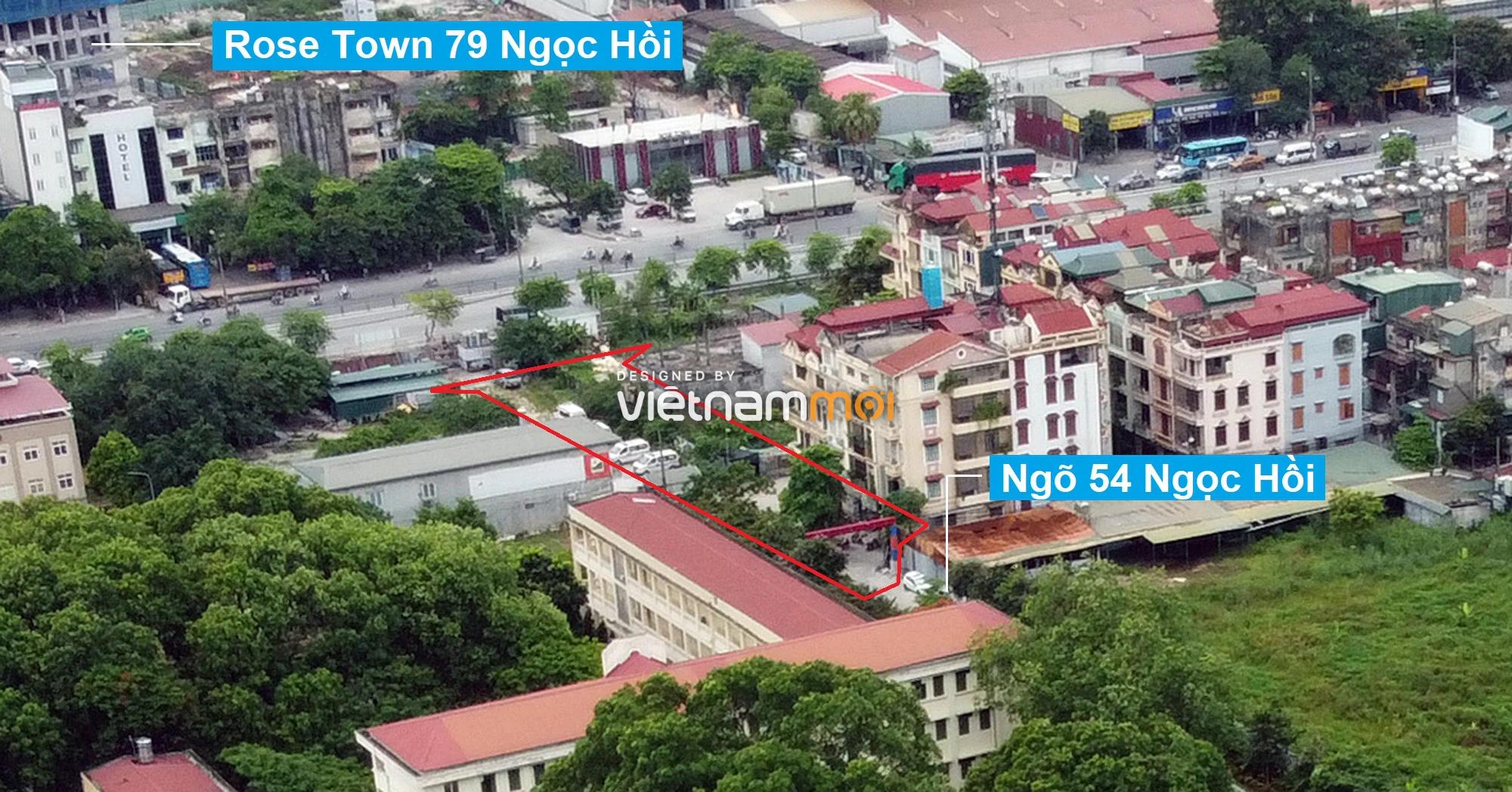 Những khu đất sắp thu hồi để mở đường ở quận Hoàng Mai, Hà Nội (phần 2) - Ảnh 3.