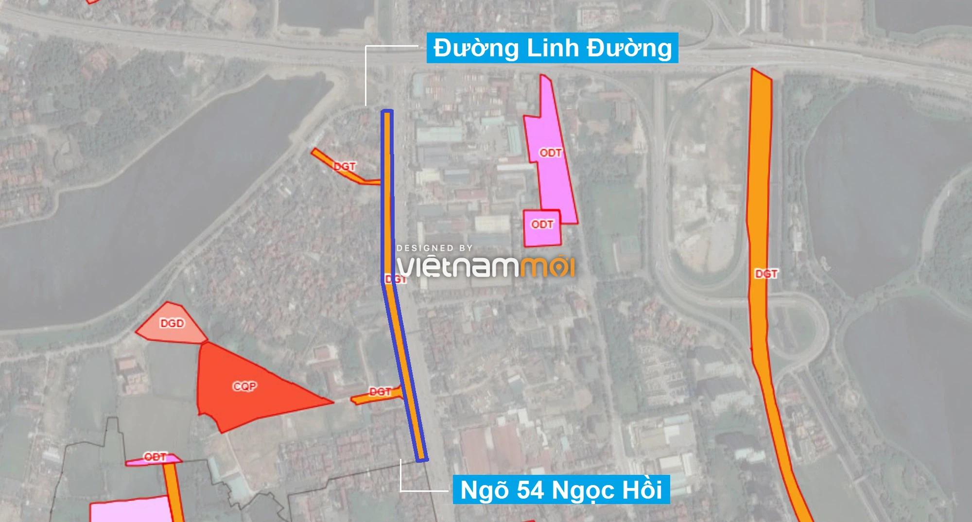 Những khu đất sắp thu hồi để mở đường ở quận Hoàng Mai, Hà Nội (phần 2) - Ảnh 4.
