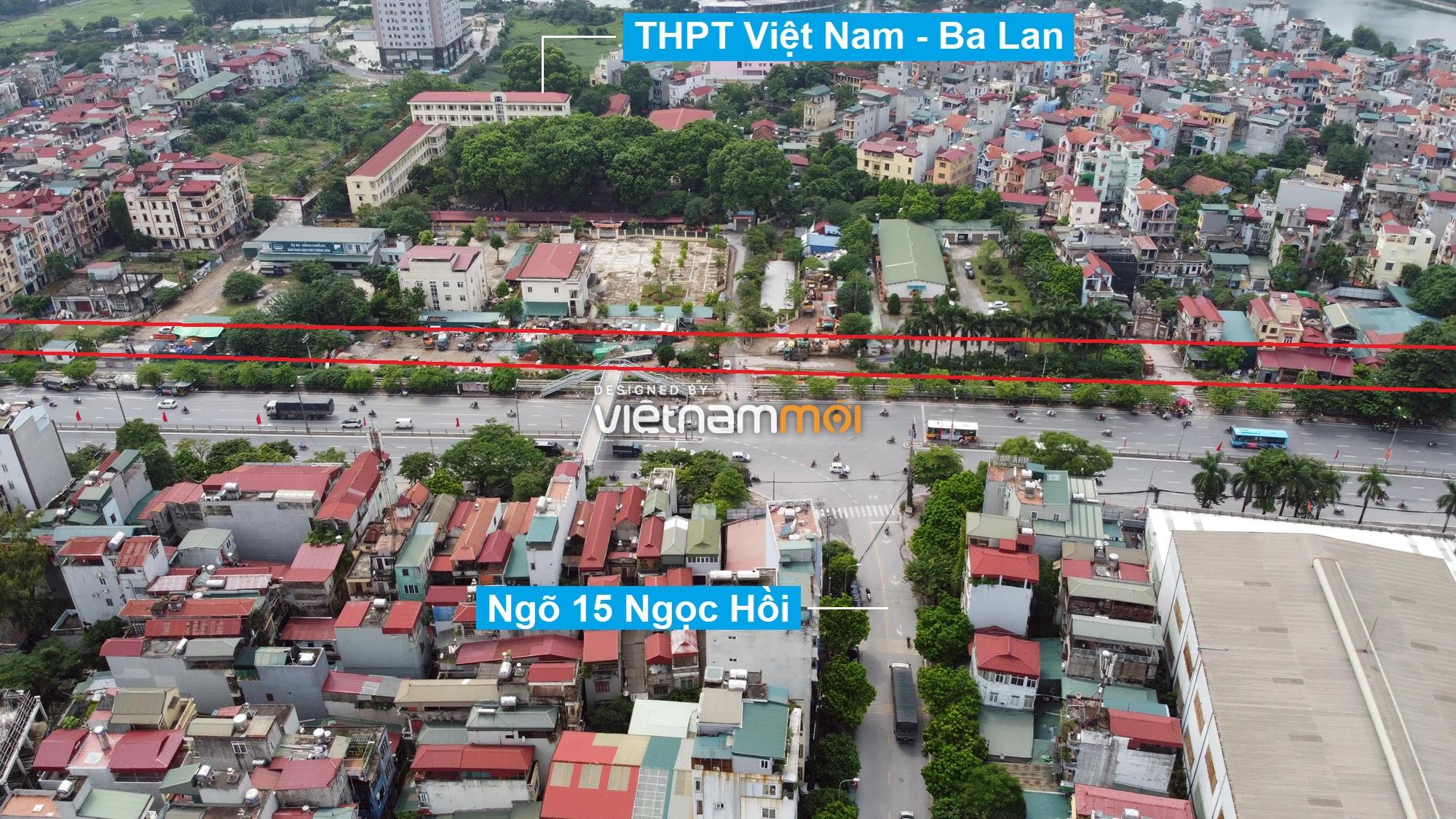 Những khu đất sắp thu hồi để mở đường ở quận Hoàng Mai, Hà Nội (phần 2) - Ảnh 8.