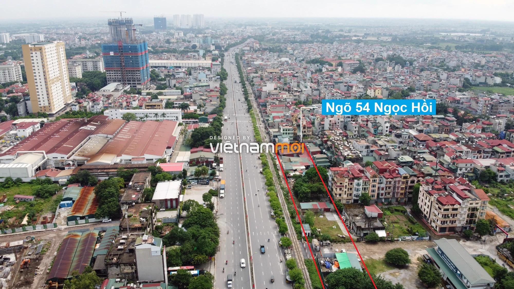 Những khu đất sắp thu hồi để mở đường ở quận Hoàng Mai, Hà Nội (phần 2) - Ảnh 9.