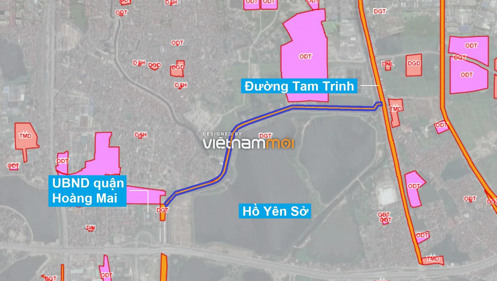 Những khu đất sắp thu hồi để mở đường ở quận Hoàng Mai, Hà Nội (phần 2) - Ảnh 11.
