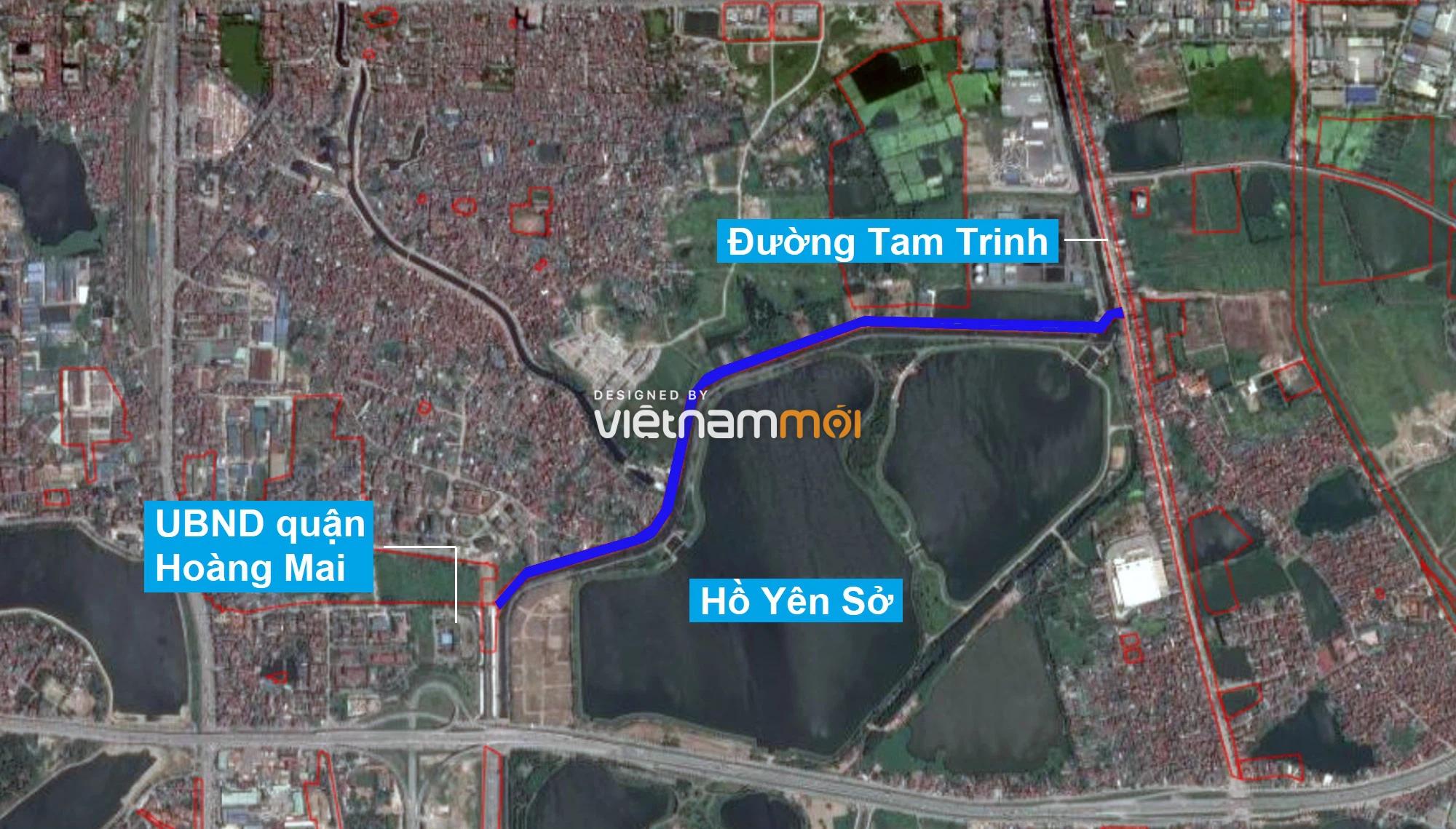 Những khu đất sắp thu hồi để mở đường ở quận Hoàng Mai, Hà Nội (phần 2) - Ảnh 12.