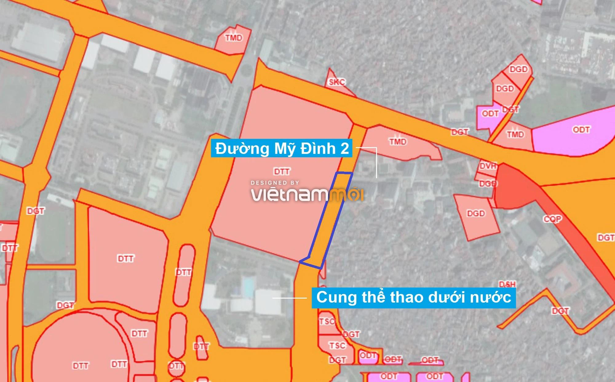 Những khu đất sắp thu hồi để mở đường ở phường Mỹ Đình 1, Nam Từ Liêm, Hà Nội (phần 2) - Ảnh 1.