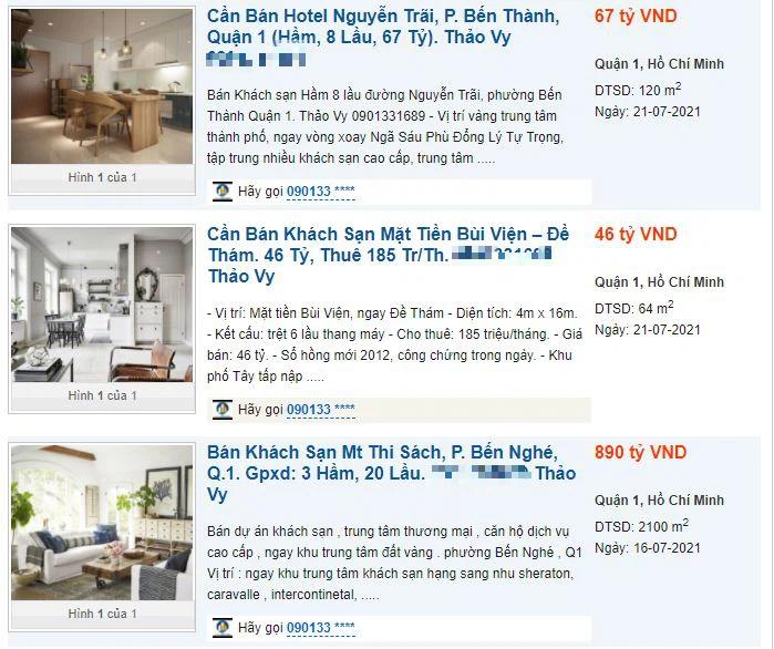 Khách sạn tại TP HCM rao bán khắp nơi, chủ đầu tư kiệt quệ - Ảnh 2.