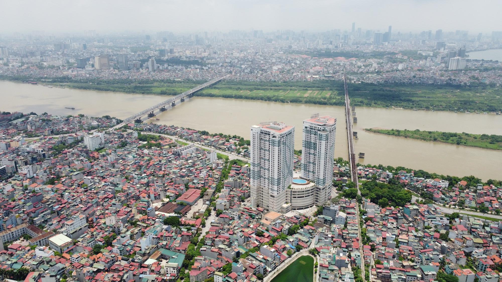 Quy hoạch phân khu sông Hồng: 5 khu dân cư dự kiến di dời, 26 khu vực giữ nguyên  - Ảnh 1.