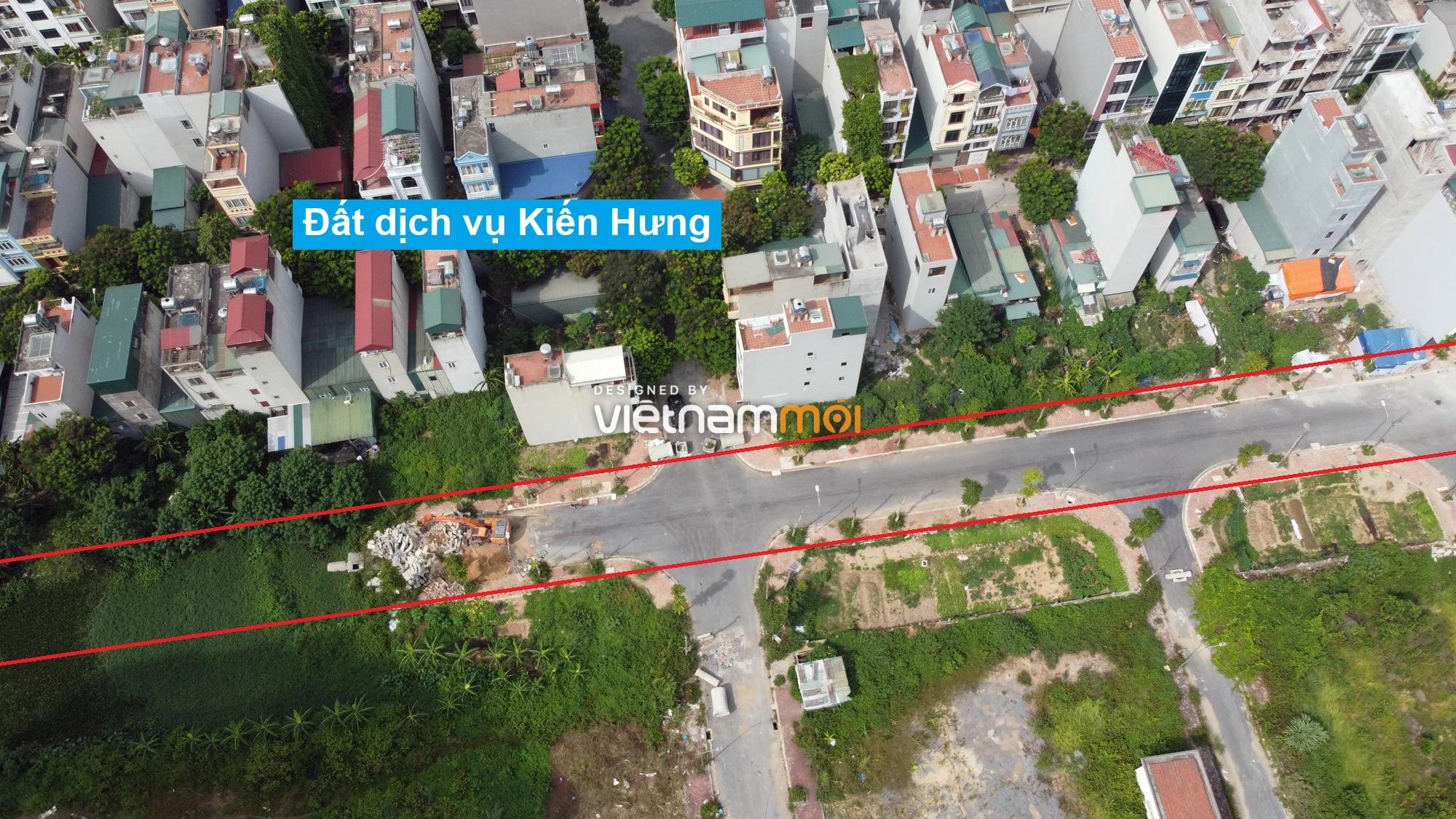 Những khu đất sắp thu hồi để mở đường ở phường Kiến Hưng, Hà Đông, Hà Nội (phần 1) - Ảnh 6.