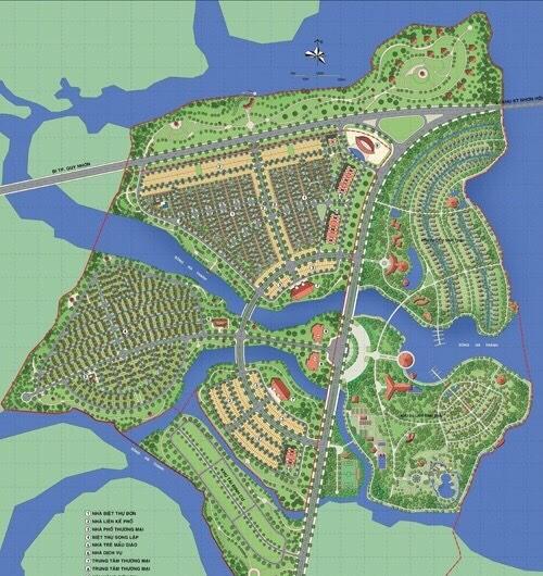 Địa ốc Sông Hồng trúng đấu giá lô đất hơn 4.500 m2 xây chung cư tại KĐT mới An Phú Thịnh - Ảnh 1.