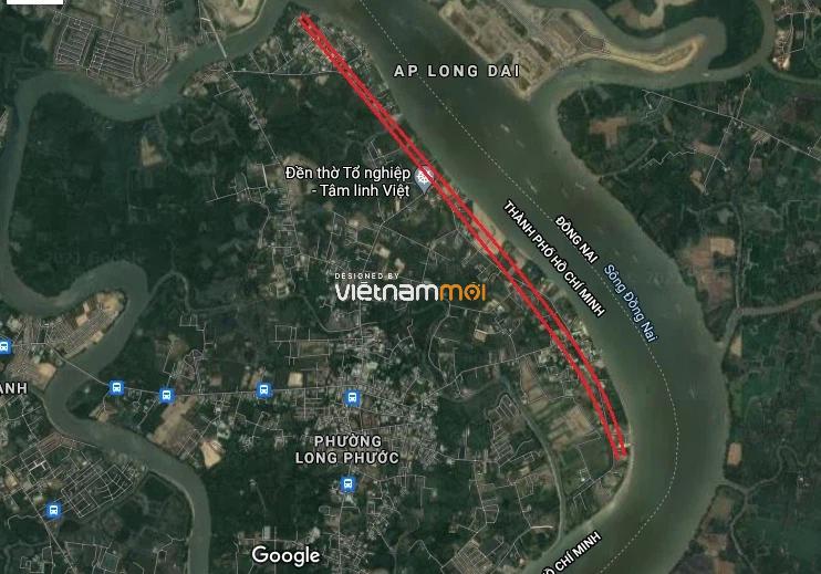 Đường sẽ mở theo quy hoạch ở phường Long Phước, quận 9, TP HCM - Ảnh 3.