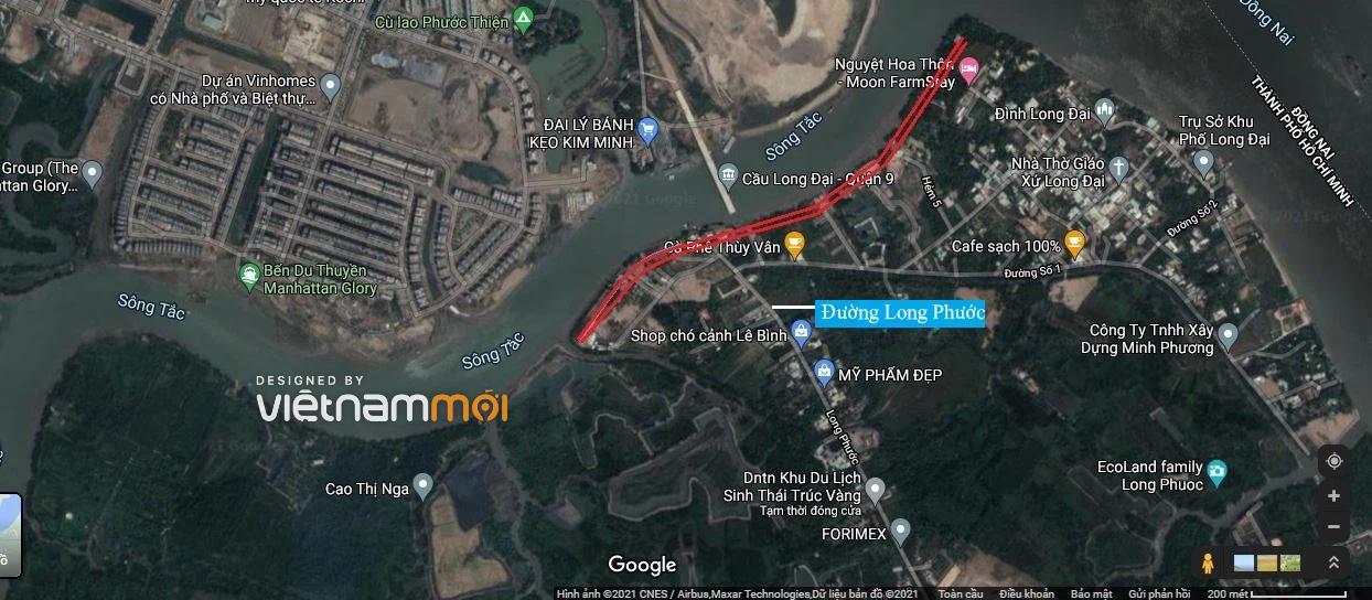 Đường sẽ mở theo quy hoạch ở phường Long Phước, quận 9, TP HCM - Ảnh 4.