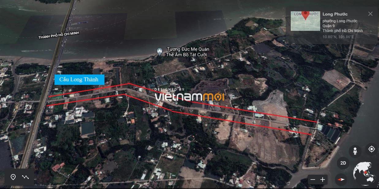 Đường sẽ mở theo quy hoạch ở phường Long Phước, quận 9, TP HCM - Ảnh 6.