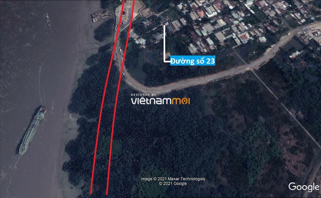 Đường sẽ mở theo quy hoạch ở phường Thạnh Mỹ Lợi, quận 2, Thủ Đức, TP HCM - Ảnh 8.