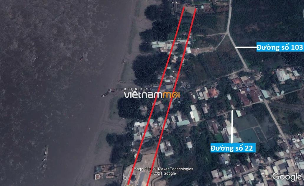 Đường sẽ mở theo quy hoạch ở phường Thạnh Mỹ Lợi, quận 2, Thủ Đức, TP HCM - Ảnh 7.