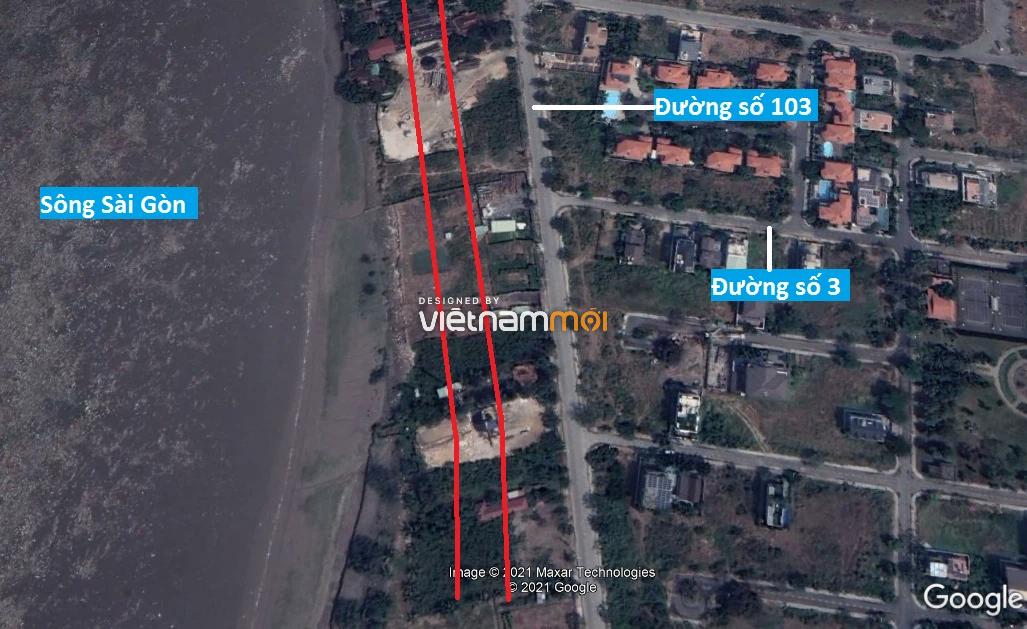 Đường sẽ mở theo quy hoạch ở phường Thạnh Mỹ Lợi, quận 2, Thủ Đức, TP HCM - Ảnh 4.