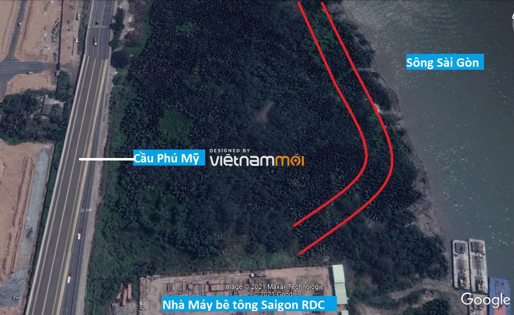 Đường sẽ mở theo quy hoạch ở phường Thạnh Mỹ Lợi, quận 2, Thủ Đức, TP HCM - Ảnh 12.