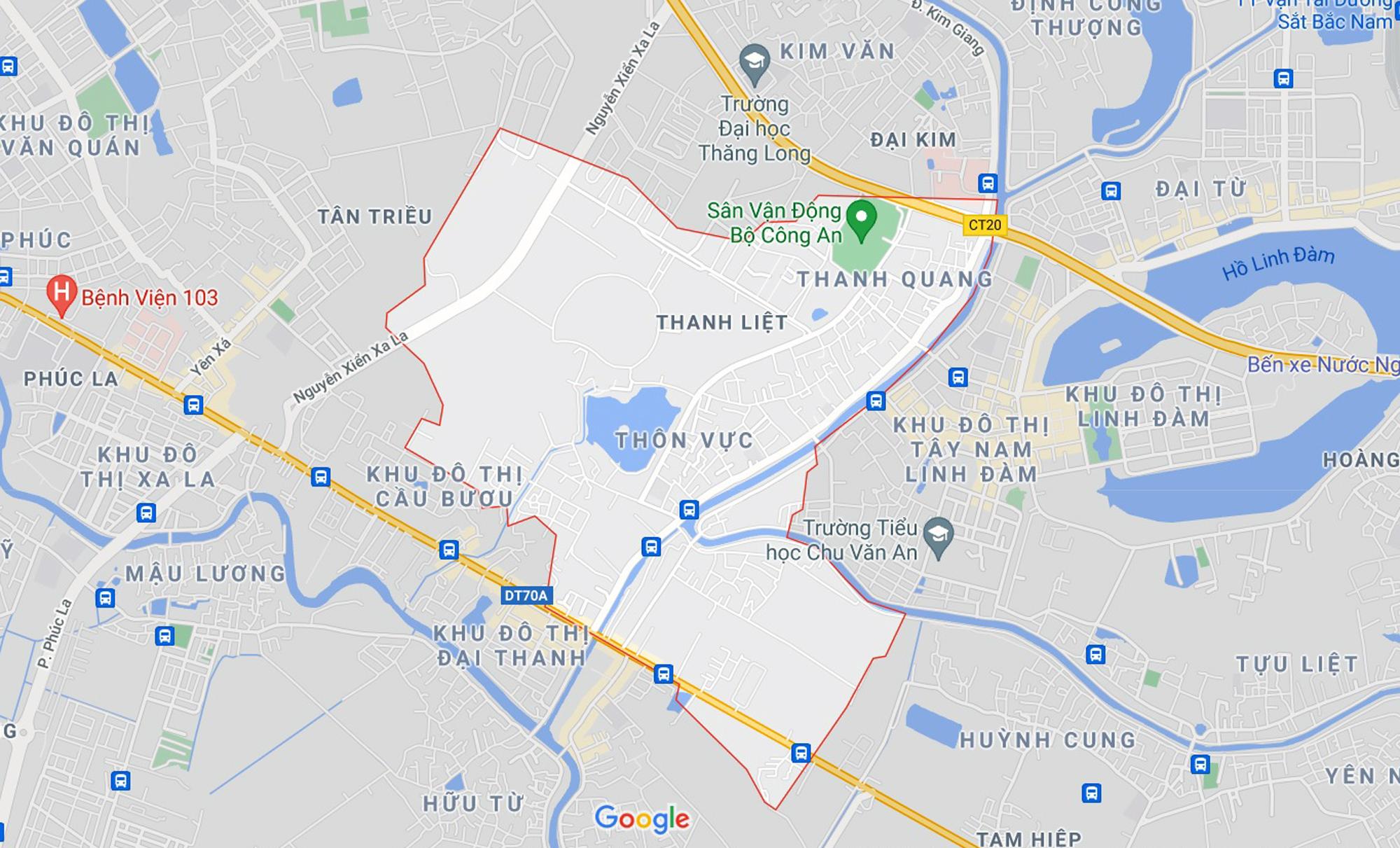 Những khu đất sắp thu hồi để mở đường ở xã Thanh Liệt, Thanh Trì, Hà Nội (phần 1) - Ảnh 1.