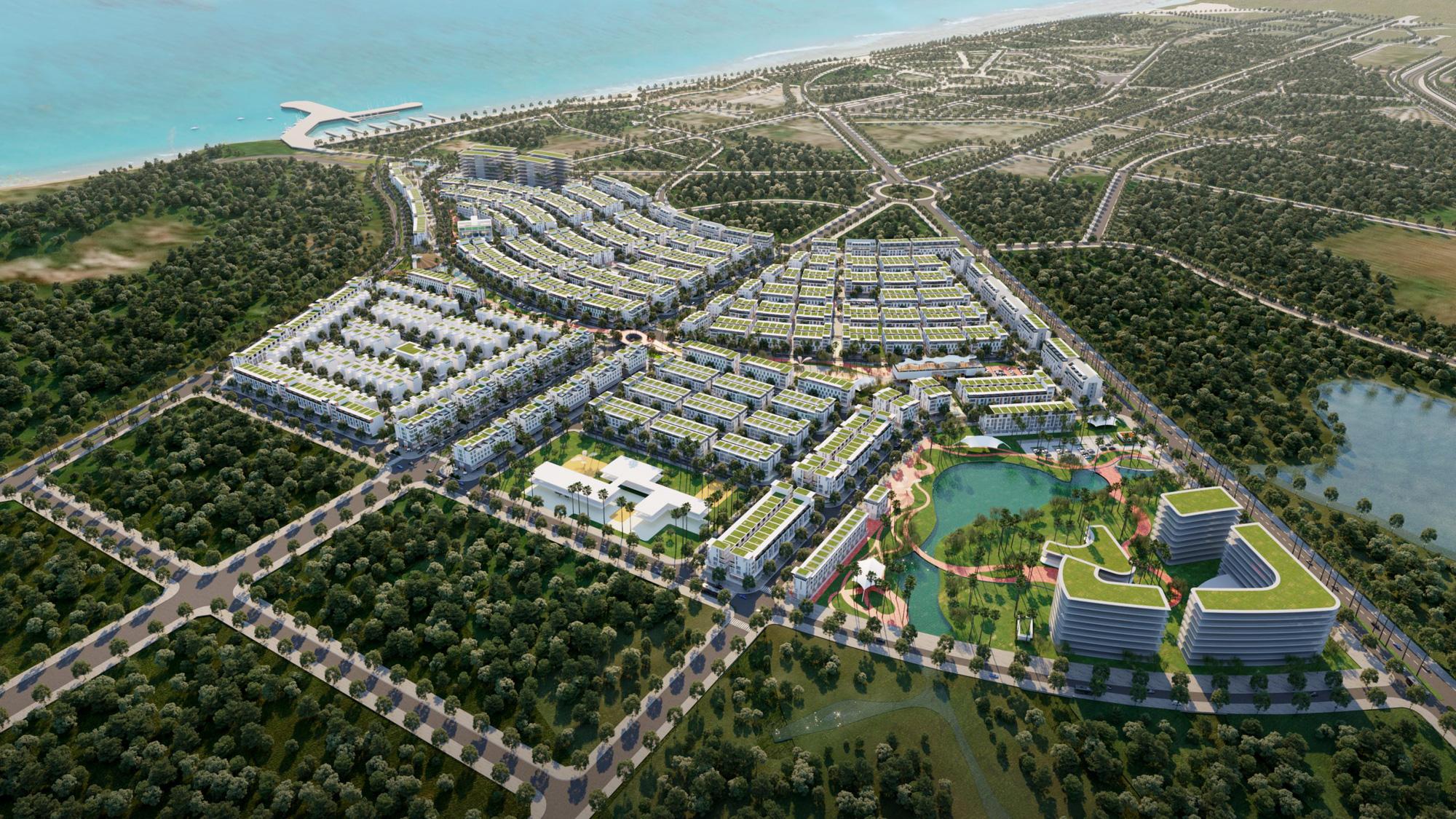 Xây dựng Hòa Bình trúng thầu dự án do Tân Á Đại Thành làm chủ đầu tư - Ảnh 1.