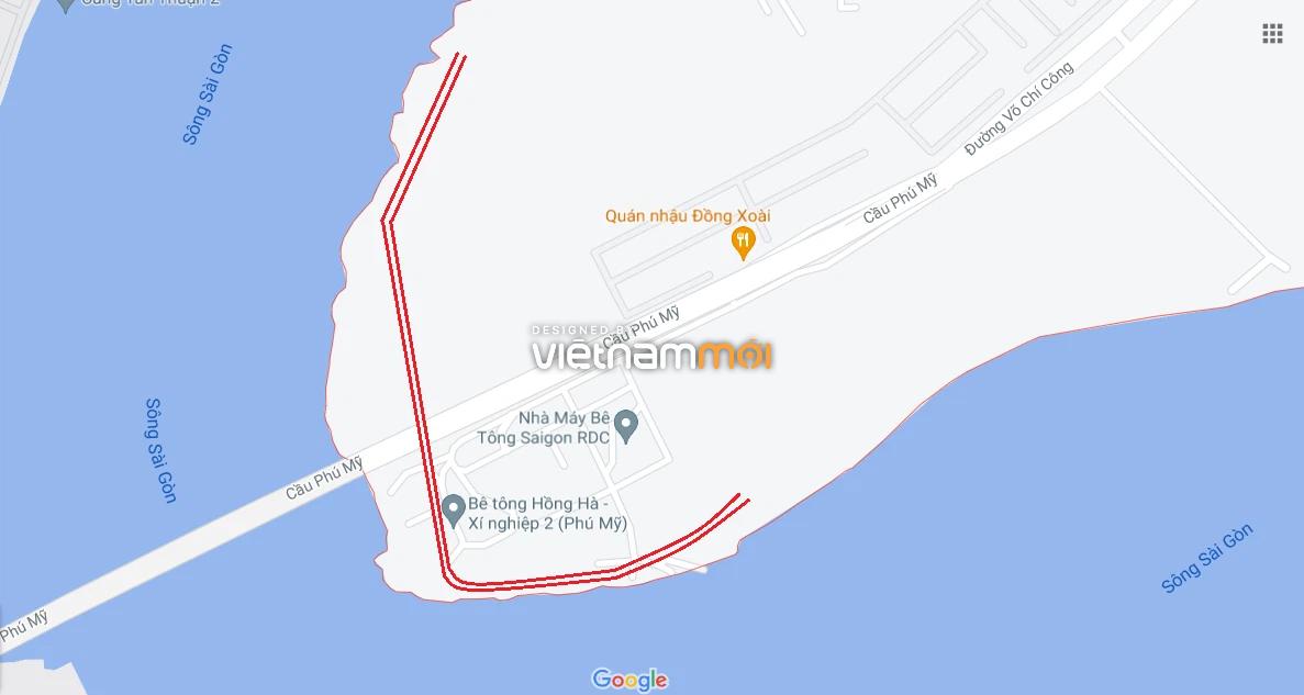 Đường sẽ mở theo quy hoạch ở phường Thạnh Mỹ Lợi, quận 2, Thủ Đức, TP HCM (phần 2) - Ảnh 2.