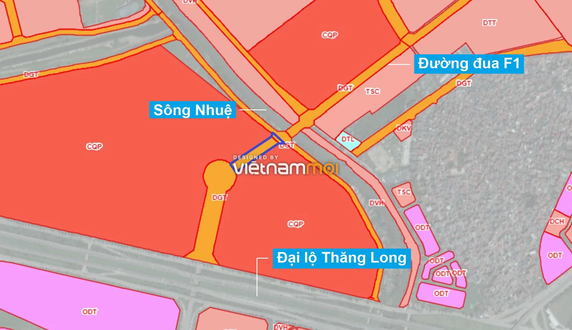 Những khu đất sắp thu hồi để mở đường ở phường Đại Mỗ, Nam Từ Liêm, Hà Nội (phần 1) - Ảnh 1.
