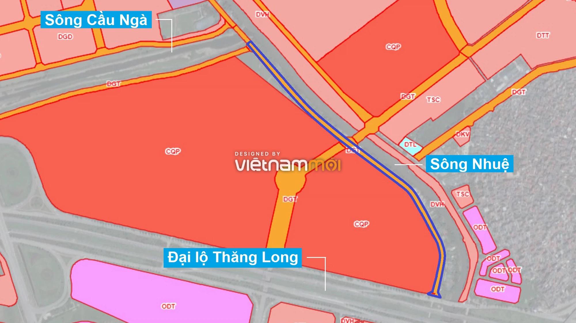 Những khu đất sắp thu hồi để mở đường ở phường Đại Mỗ, Nam Từ Liêm, Hà Nội (phần 1) - Ảnh 7.