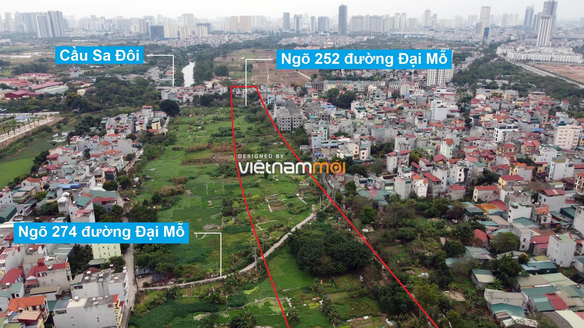Những khu đất sắp thu hồi để mở đường ở phường Đại Mỗ, Nam Từ Liêm, Hà Nội (phần 1) - Ảnh 16.