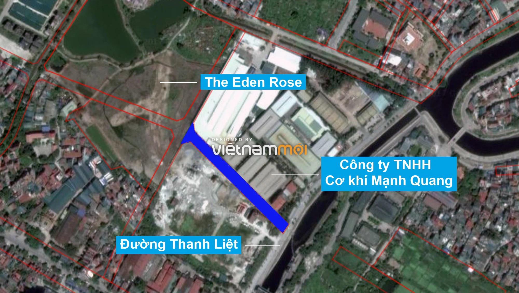 Những khu đất sắp thu hồi để mở đường ở xã Thanh Liệt, Thanh Trì, Hà Nội (phần 1) - Ảnh 2.