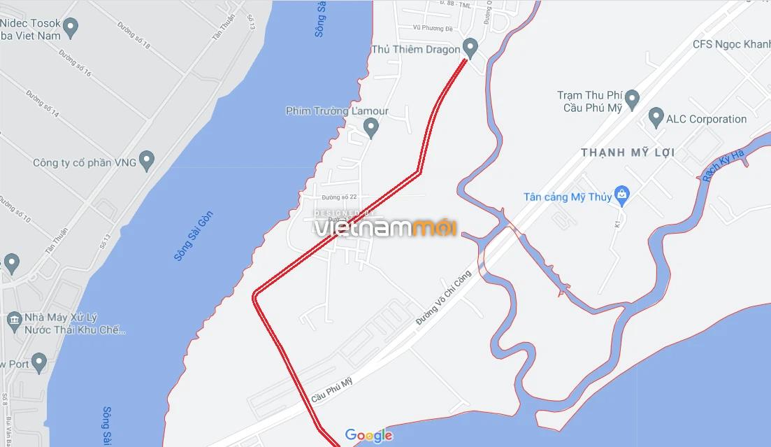 Đường sẽ mở theo quy hoạch ở phường Thạnh Mỹ Lợi, quận 2, Thủ Đức, TP HCM (phần 3) - Ảnh 2.