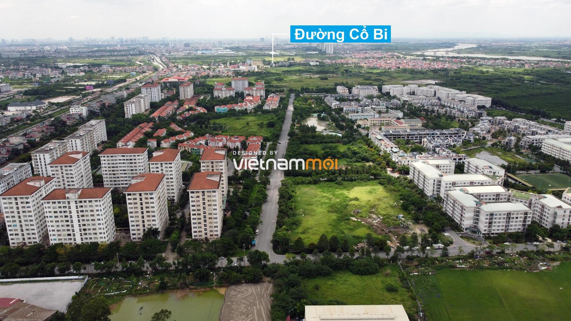 Toàn cảnh tuyến đường từ KĐT Đặng Xá đến chân cầu vượt Phú Thị đang mở theo quy hoạch ở Hà Nội - Ảnh 2.