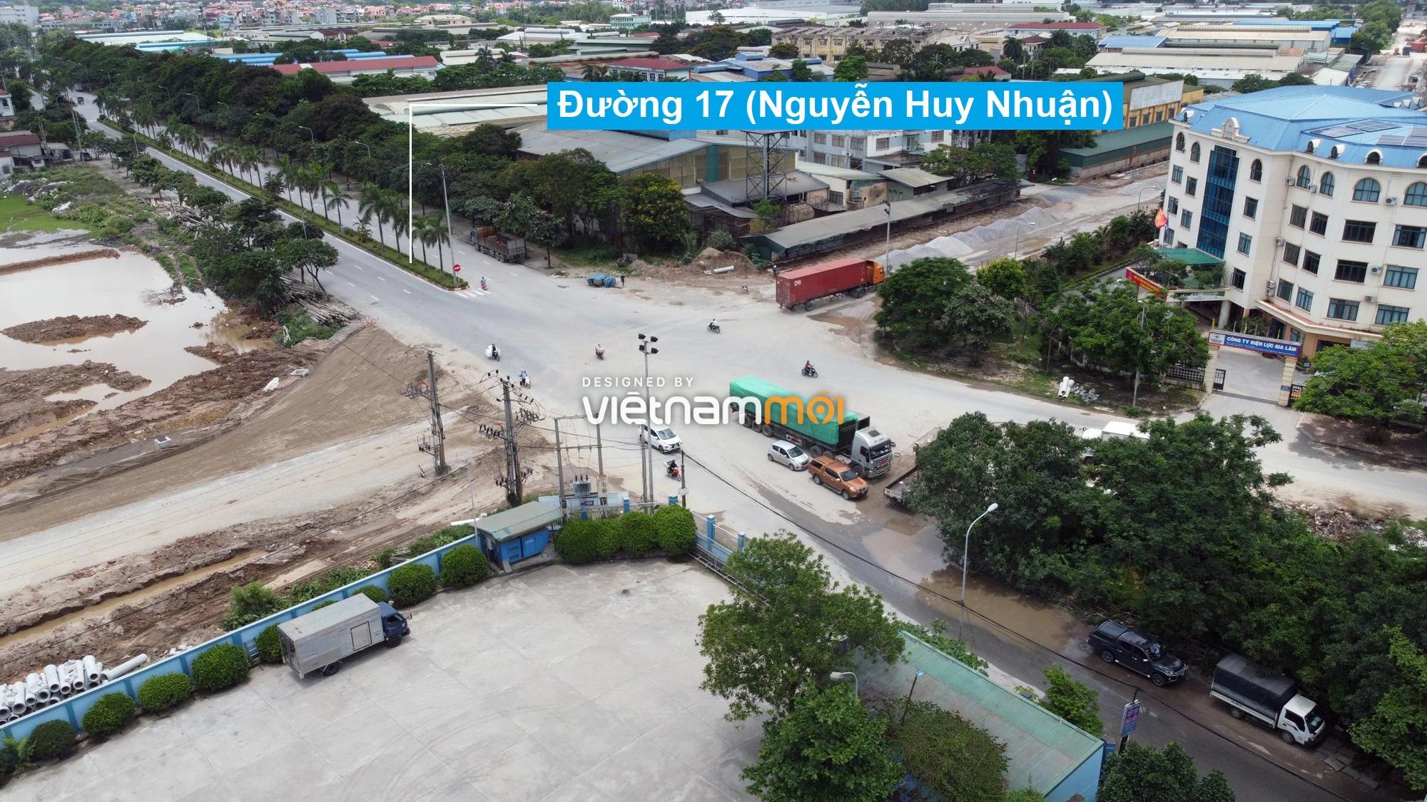 Toàn cảnh tuyến đường từ KĐT Đặng Xá đến chân cầu vượt Phú Thị đang mở theo quy hoạch ở Hà Nội - Ảnh 3.