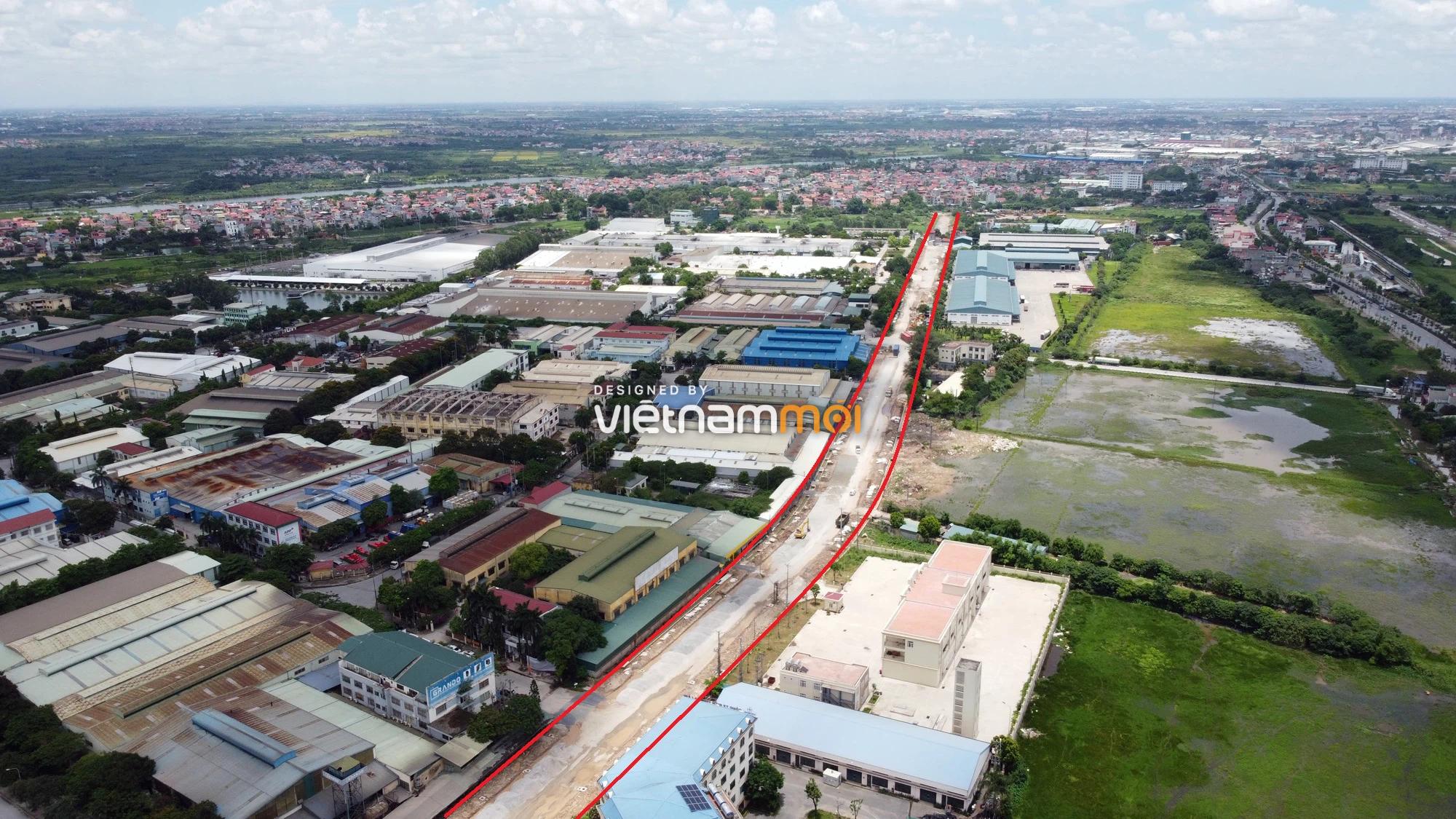 Toàn cảnh tuyến đường từ KĐT Đặng Xá đến chân cầu vượt Phú Thị đang mở theo quy hoạch ở Hà Nội - Ảnh 6.