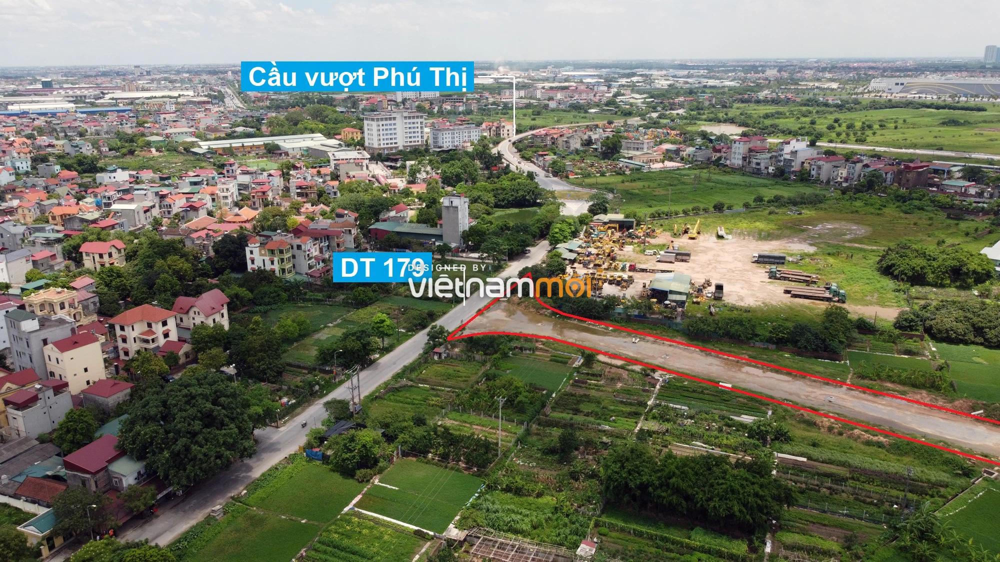 Toàn cảnh tuyến đường từ KĐT Đặng Xá đến chân cầu vượt Phú Thị đang mở theo quy hoạch ở Hà Nội - Ảnh 7.