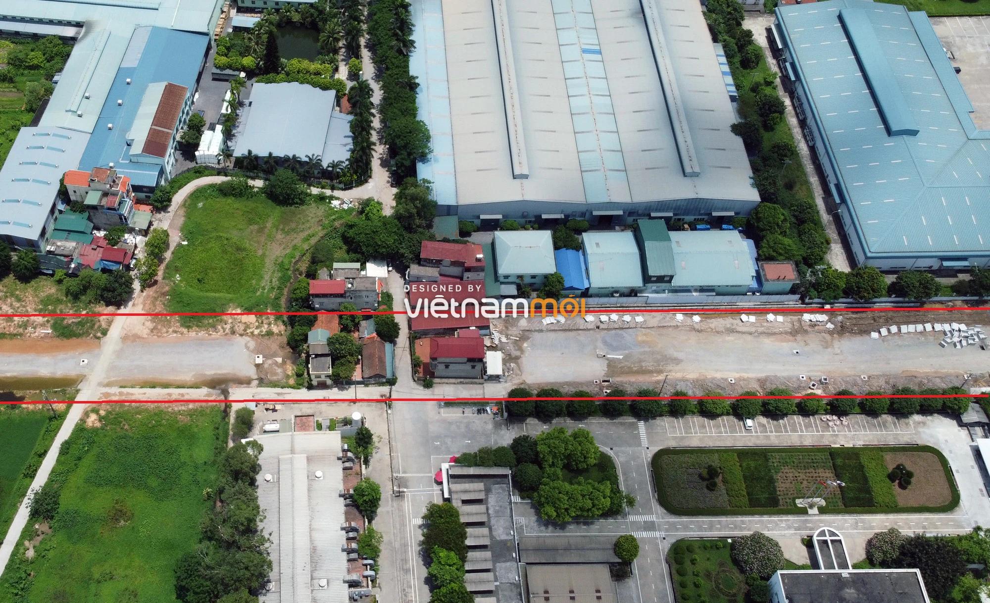 Toàn cảnh tuyến đường từ KĐT Đặng Xá đến chân cầu vượt Phú Thị đang mở theo quy hoạch ở Hà Nội - Ảnh 10.