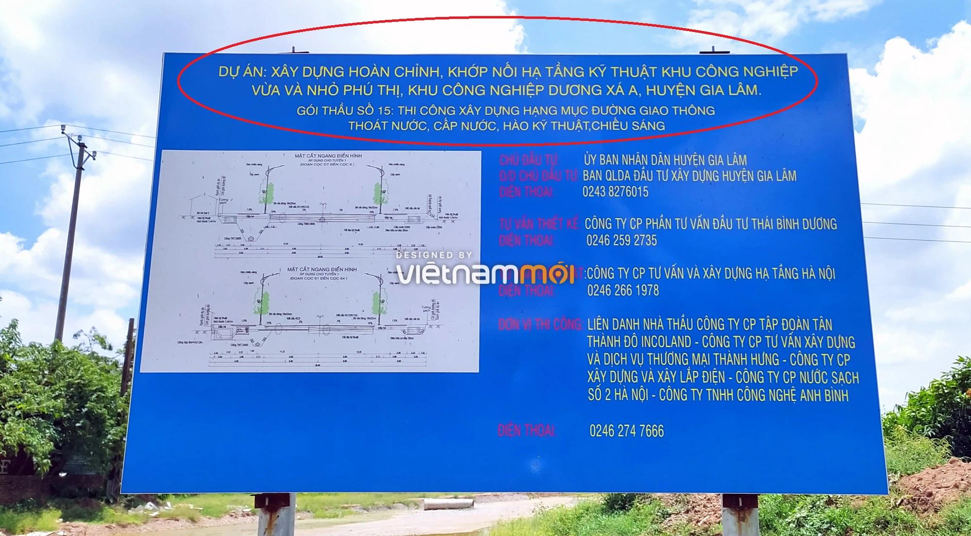 Toàn cảnh tuyến đường từ KĐT Đặng Xá đến chân cầu vượt Phú Thị đang mở theo quy hoạch ở Hà Nội - Ảnh 14.