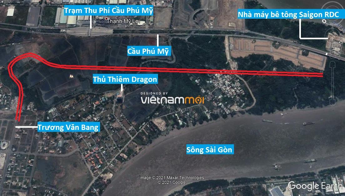 Đường sẽ mở theo quy hoạch ở phường Thạnh Mỹ Lợi, quận 2, Thủ Đức, TP HCM (phần 4) - Ảnh 2.