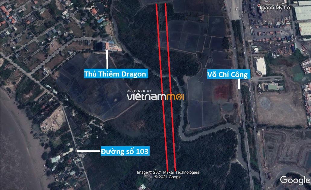 Đường sẽ mở theo quy hoạch ở phường Thạnh Mỹ Lợi, quận 2, Thủ Đức, TP HCM (phần 4) - Ảnh 5.